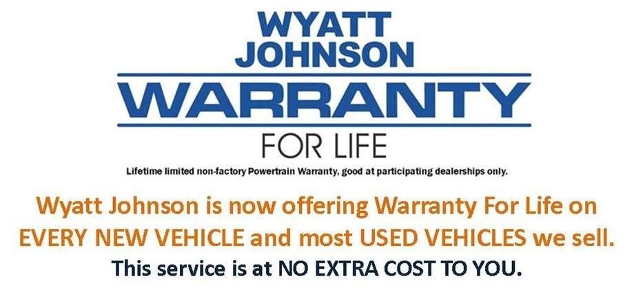 Warranty For Life available at Wyatt Johnson Volkswagen